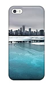 Durable Ice On The Lake Back Case/cover For Iphone 5/5s