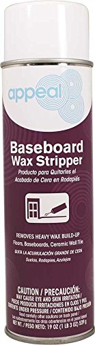 Appeal APP12735 Baseboard Cleaner and Wax Stripper, Pale Beige, Pine Scent, 20 oz, 12 per Case