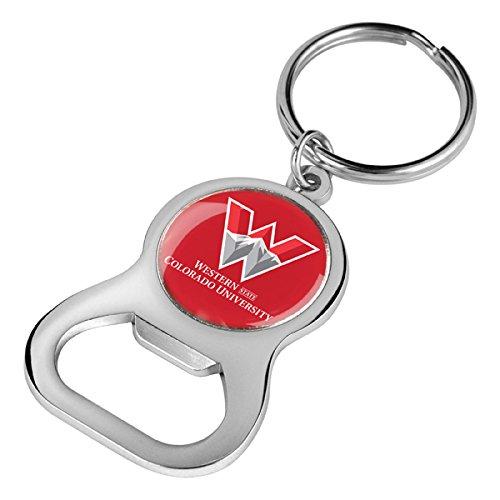 NCAA Western State Colorado University Mountaineers - Key Chain Bottle Opener (Key University)