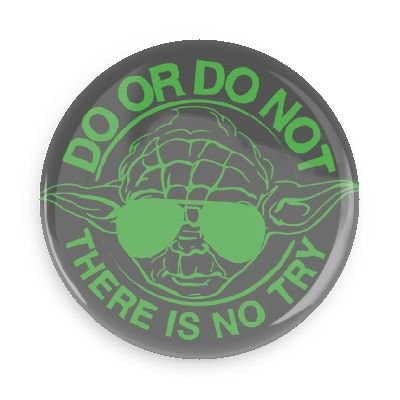 (Funny Magnets; Popular Movies Star Wars Yoda Do Or Do Not There Is No Try 3.0 Inch Refrigerator Magnet )
