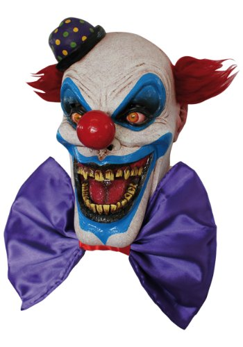 Scary Chompo the Clown Costume Mask - ST -