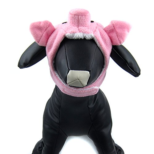 Alfie Pet by Petoga Couture - Piggy Hat for Party Halloween Special Events Costume (for Small Dogs & Cats) - Size: (Halloween Safety Tips For Dogs)