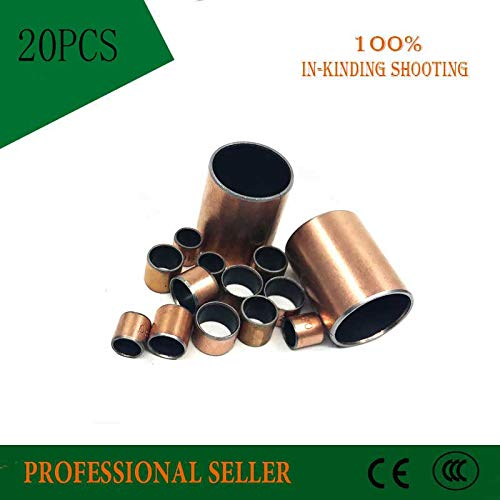 Length: 3x5x5mm Ochoos SF-1 0303 0304 0305 Oilless Bush DU Self-lubricating Bushing Sintered Bush Size 5mm Sliding Bearing