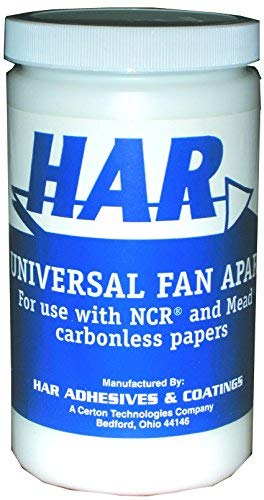 HAR Universal NCR Fan Apart Carbonless Paper Adhesive - Quart by HAR