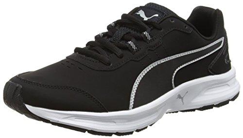 Puma 02black Atletismo Negro Black Descendantv4slf6 de 02 Silver Adulto Zapatillas Silver Unisex r1tqrxfzw