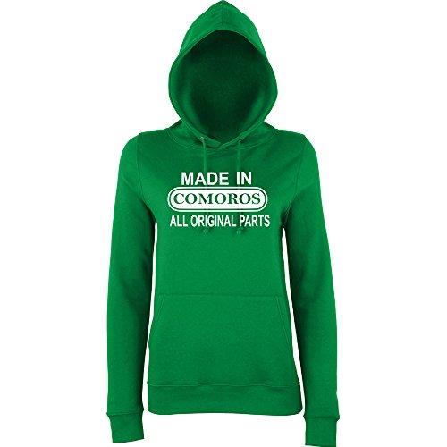 Green Green Green Donna Felpa Daataadirect Cappuccio con Kelly Bzw86qW7X