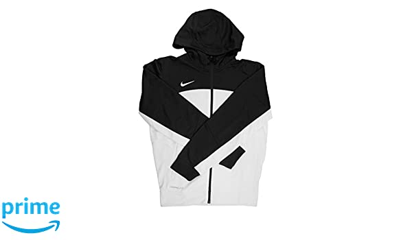 Amazon.com: Nike Therma-fit Mens White/Black Full Zip Training Hoodie - Small: Sports & Outdoors