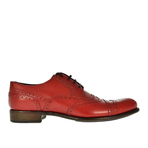 in Pelle 44 amp; Rossa Stringata Dolce Gabbana x6I4qw8