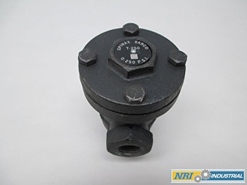 NEW SPIRAX SARCO T-250 1/2IN NPT 0-250PSI STEAM TRAP D332616