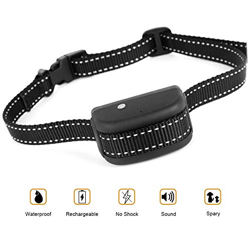 Flightbird Rechargeable Spray Bark Collar for Dogs,