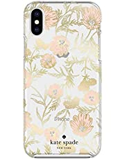 Kate Spade New York KSIPH-109-BPKGG Case for iPhone XS Max, Blossom Pink/Gold Foil/Gems