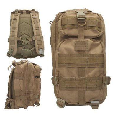 Level III Lv3 Molle Assault Pack Backpack--TAN by Level III   B000Q5UHMA
