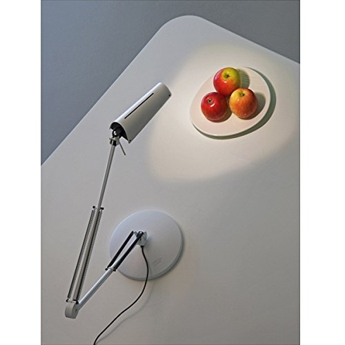 LUXO Air LED-Arbeitsplatzleuchte - 800 mm     aluminiumgrau   Tischklemme B01N96G51B | Nutzen Sie Materialien voll aus  9aad60