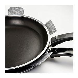 """ZesGood Set of 8 Pot & Pan Protectors, 15""""Diameter 0.11""""Thickness"""