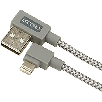 Amazon Com Micord 90 Degree Braided Lightning To Usb