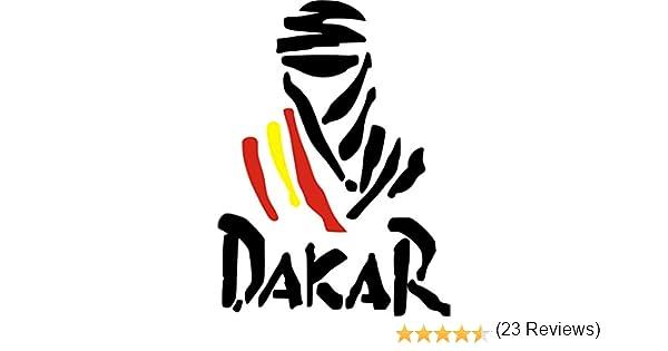 Pegatina Vinilo Logo Dakar España - Casco, Coche, Moto, Bici ...