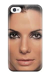 Larry B. Hornback's Shop New 0242 Celebrity Sandra Bullock Tpu Case Cover, Anti-scratch Phone Case For Iphone 4/4s