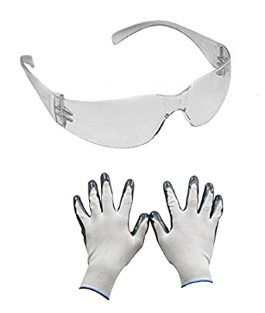 9203bab99f Image Unavailable. Image not available for. Colour  Speedwav 28252 Combo of  3M Stylish Bike Riding Goggles+Accedre ...