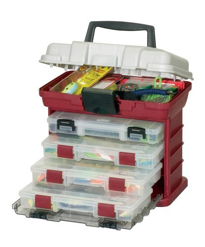 Plano 1354 02 by rack system 3500 size tackle box for Plano fishing box
