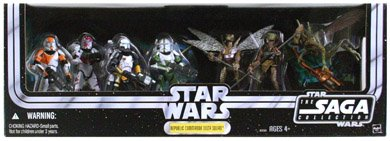 Entertainment Earth Star Wars Republic Commando Delta Squad Internet Exclusive Action Figures Box Set