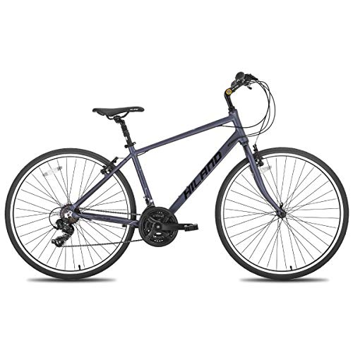 Hiland City Urban Bike for Men's Aluminum Comfort Road City