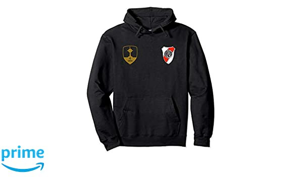 Amazon.com: River Plate Argentina Buzo hoodie Campeon Libertadores 18: Clothing