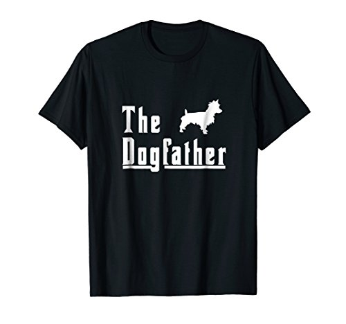The Dogfather Australian Terrier T-Shirt Tee Shirt