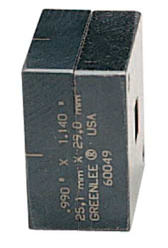 Greenlee 60049 Rectangle Die, 0.990 by 1.140-Inch by Greenlee