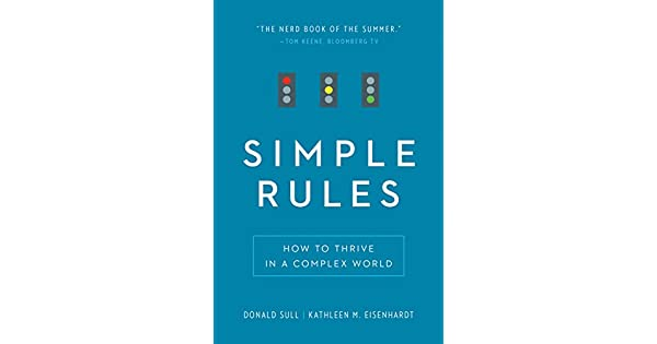 Simple rules how to thrive in a complex world english edition simple rules how to thrive in a complex world english edition ebook donald sull kathleen m eisenhardt amazon loja kindle fandeluxe Choice Image