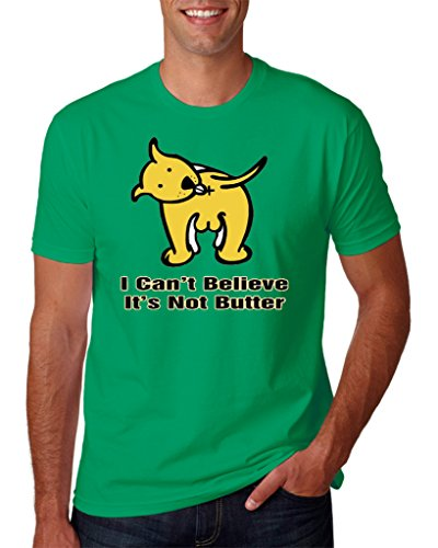 hot-ass-tees-adult-unisex-i-cant-believe-its-not-butter-t-shirt-green-large