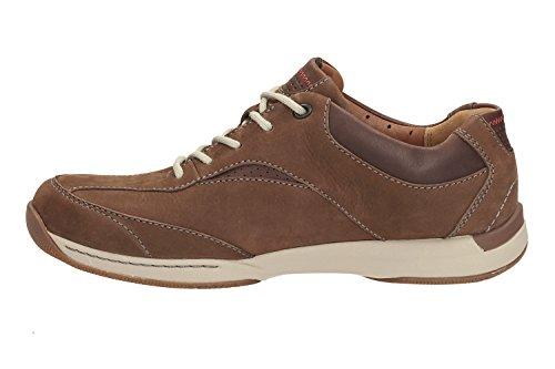 Clarks Herren Javery Edge Sneaker Braun