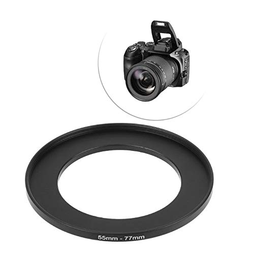 55mm to 77mm Metal Step Up Rings Lens Adapter Filter Camera Tool Accessories New