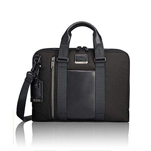 - TUMI - Alpha Bravo Aviano Laptop Slim Brief Briefcase - 15 Inch Computer Bag for Men and Women - Black