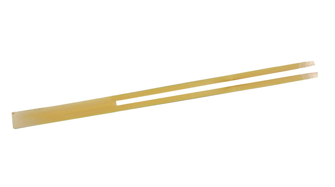 PacknWood Dual Prong Bamboo Double-Pick Skewer, 5.5'' Length (Case of 2000)