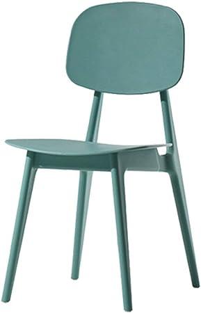Sedie In Plastica Per Esterno.Huacang Sedie Da Giardino Con Schienale Basso Per Esterno In
