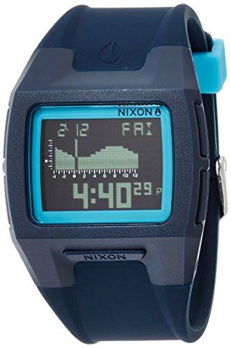 [ニクソン]NIXON LODOWN SILICONE: ALL DARK BLUE NA2812224-00 メンズ