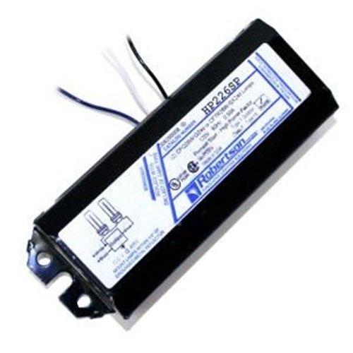 ROBERTSON 3P10085 HP226SP AM Fluorescent mBallast for 2 CFQ26W/G24d, Preheat Start, 120Vac, 60Hz, Normal Ballast Factor, High Power Factor