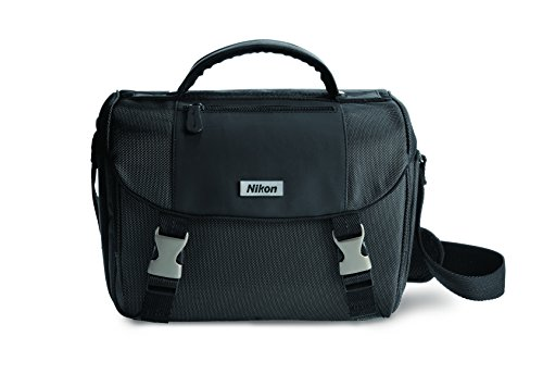 Large Digital Camera Case - Nikon DSLR Bag with Online Class Camera Case, Black (9793)