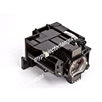 Replacement projector lamp for Hitachi DT01471