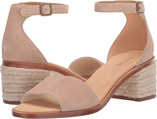 (Soludos Women's Capri Block Heel Sandals, Blush, Pink, Tan, 6 M US)