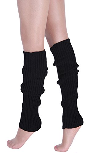Winter caldi a Black Calzino paio Donna 1 Acvip Long maglia Leggings Leggings 8BvqnZwx