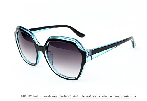 Sinkfish SG80050 Gift Sunglasses for Women,Anti-UV Sunshades - UV400/Aqua Frames/Gray Lens