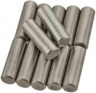 6mm to 50mm A2 304 Stainless Steel Dowel Pins Hardened /& Ground M4 M5 x