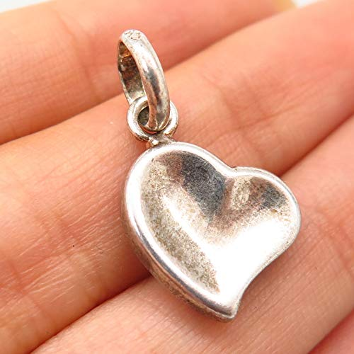 - Links of London 925 Sterling Silver Heart Design Charm Pendant Jewelry Making Supply by Wholesale Charms