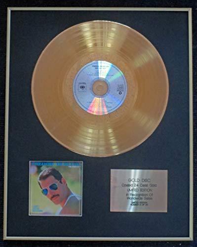 Century Presentations - Freddie Mercury - Exclusive Limited Edition 24 Carat Gold Disc - Mr. Bad Guy