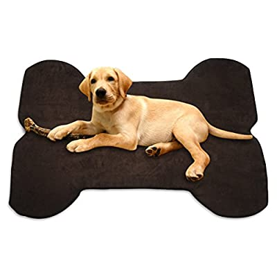Microfiber Memory Foam Pet Bed/Travel Bed On Sale - X-LARGE This Pet Bed Mat Crate Pad Is The Best Solution For Your Large Dog, Keeps Your Pet Comfortable While Sleeps + Comes With A Removable, Washable, Zippered Cover + A Best Selling eBook As Bonus
