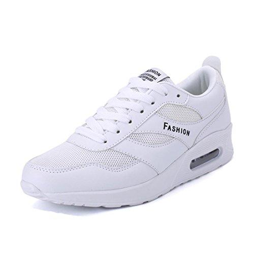 Hombres Zapatos deportivos El nuevo impermeable Respirable Formación Zapatos para correr White