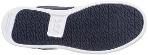 Baskets Bleu Mixte white Supra navy Khan Hautes Adulte 5XZggPwx