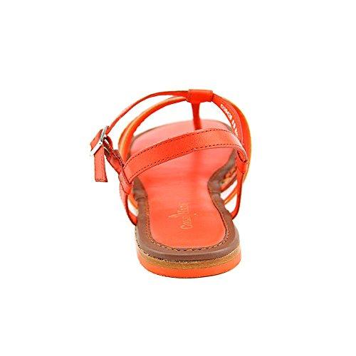 Cole Haan Nassau Sandalo Ciliegia / Arancio Signore Pomodoro Ciliegia / Sequoia / Pop Arancione