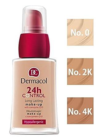 d69043a1a Amazon.com : DERMACOL 24H CONTROL LONG LASTING MAKE-UP - NO.2K : Beauty